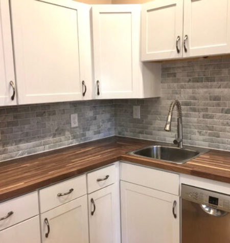 Rental Property Kitchen